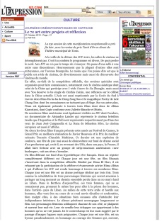 L'Expression Edition OnLine