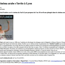 Lyon « Cultures Arabes