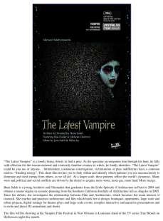 The Latest Vampire